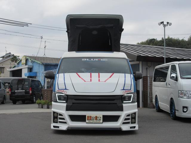 デモカーPOPアップルーフ3ナンバー乗用キャプテンシート(2枚目)