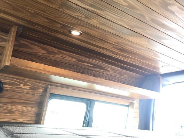 デラックス ロング 新車未登録 家具&ウッド調2段ベッド(10枚目)
