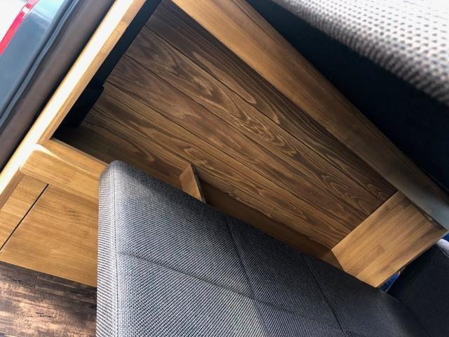 デラックス ロング 新車未登録 家具&ウッド調2段ベッド(12枚目)