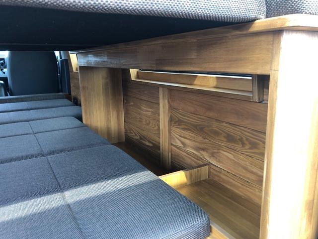デラックス ロング 新車未登録 家具&ウッド調2段ベッド(13枚目)