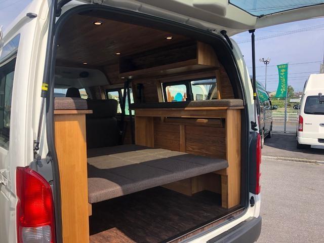 デラックス ロング 新車未登録 家具&ウッド調2段ベッド(18枚目)