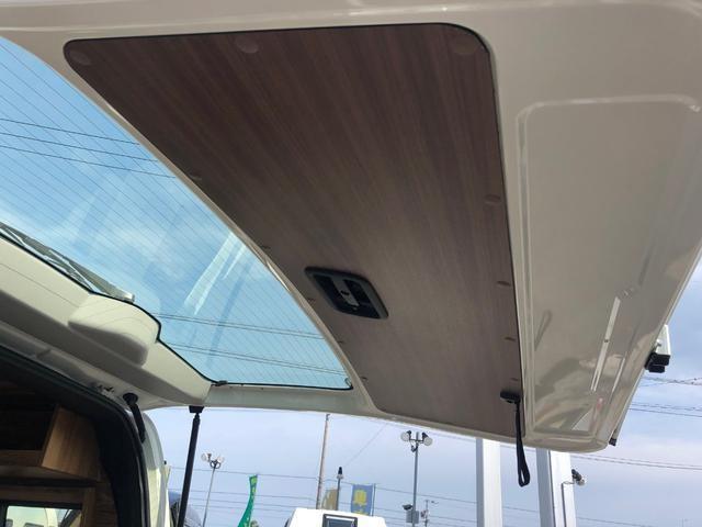 デラックス ロング 新車未登録 家具&ウッド調2段ベッド(19枚目)