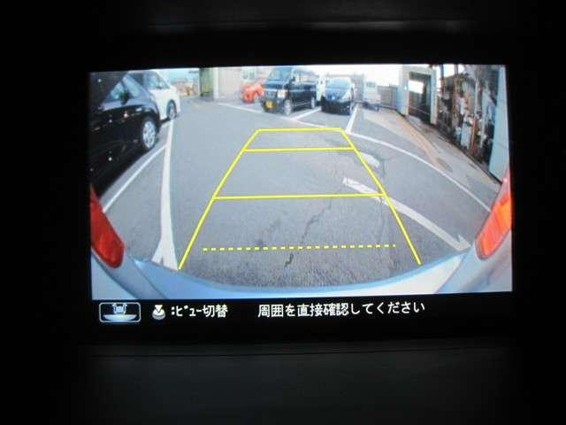 バックカメラ付です!駐車時に見えにくい後下部が見えます☆