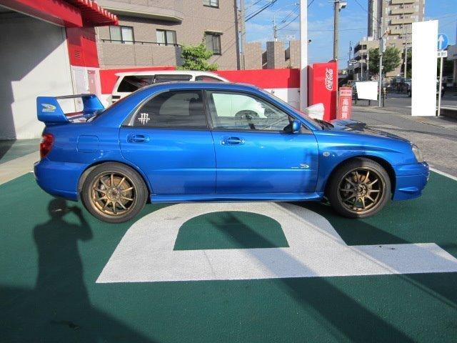 スバル インプレッサ WRX 2003 Vリミテッド 4WD ターボ 社外マフラー