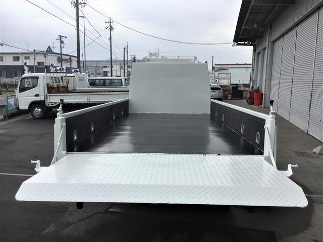 ロング積載3.5t パワーゲート 荷台4.3m 2m 鉄板(2枚目)