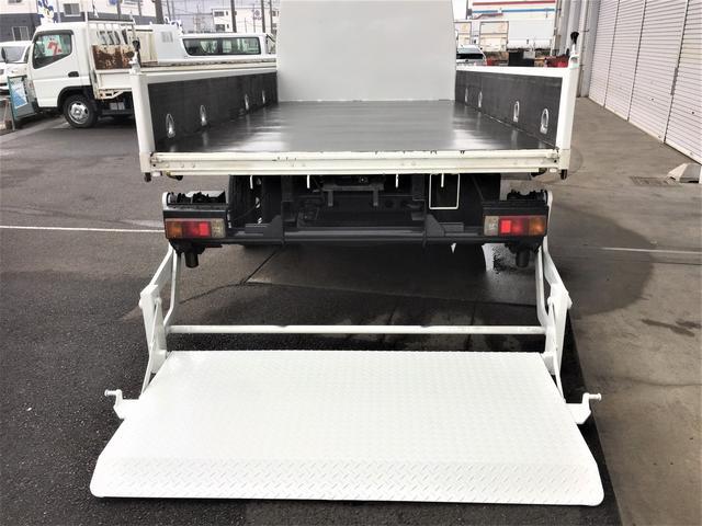 ロング積載3.5t パワーゲート 荷台4.3m 2m 鉄板(3枚目)