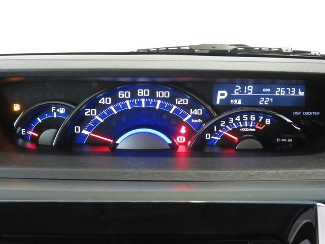 スピードメーターは,シンプルで見やすいです。実走距離26731Kmです。