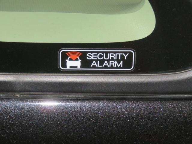 盗難警報装置付です。不正にドアを開けると室内ブザーが鳴り外部に異常を知らせます。