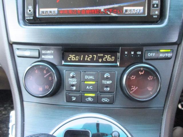 トヨタ マークXジオ 240G HDDナビ地デジフルセグRカメラ ETC