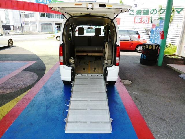 車椅子移動車 福祉車両 スローパー 電動ウインチ 1年保証付(2枚目)