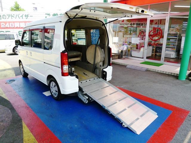 車椅子移動車 福祉車両 スローパー 電動ウインチ 1年保証付(3枚目)