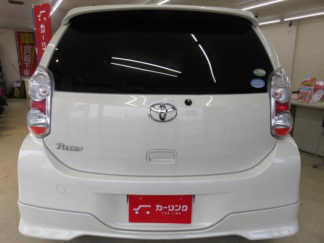 トヨタ パッソ プラスハナHDDナビフルセグTV エアロ社外アルミETC