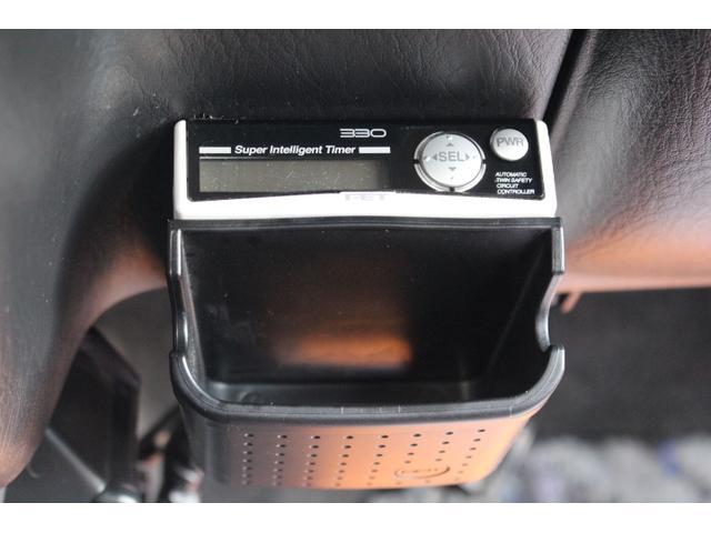 ターボタイマーが装備されております。前オーナー様がお車を大事にされていたことが伺えますね。