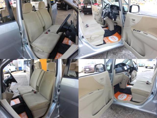 車内は専用クリーニングマシーンにて、洗浄、除菌、消臭処理が施されております。もちろん気になる様な臭い等感じられません。