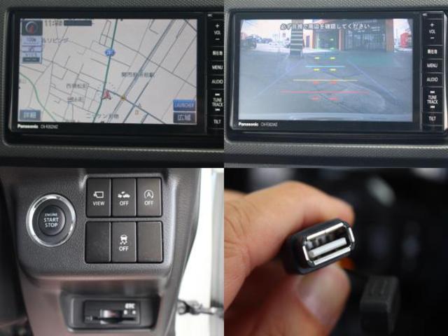 SDナビが装備されております。バックカメラ、ブルートゥース、フルセグTV、DVDビデオ、USB接続が利用可能です。レーダーブレーキサポート、ビルトインETCが装備されております。