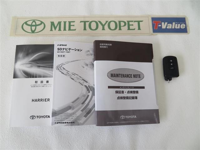 「トヨタ」「ハリアーハイブリッド」「SUV・クロカン」「三重県」の中古車19