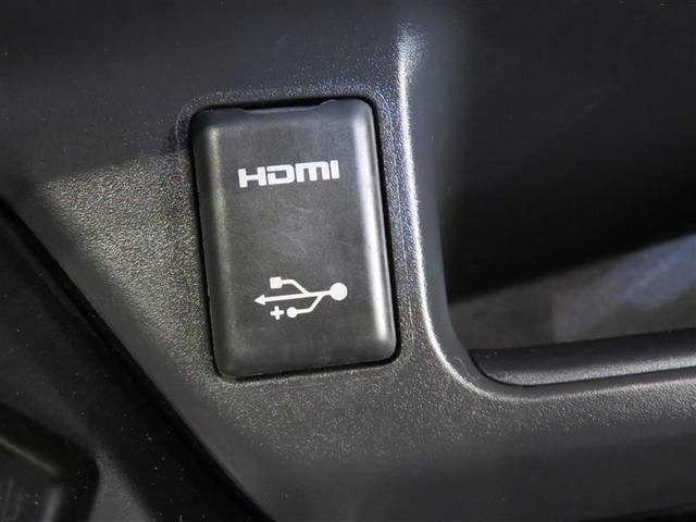 USB/HDMI入力端子付きです。