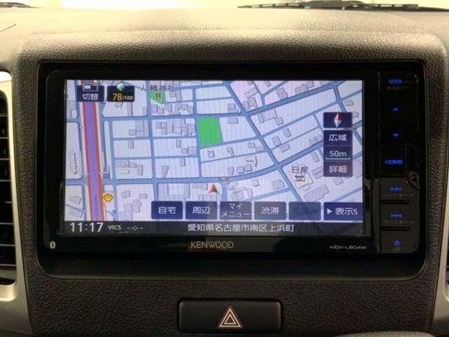 G Aパック3年保証 ワンオ-ナ- 禁煙車 ケンウッドナビMDV-L504W フルセグ DVD SD BTaudioハンズフリ- スマ-トキ- ETC シ-トヒ-タ-付運転席 ドアバイザ-(13枚目)