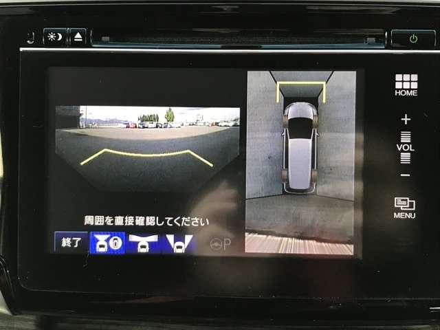 ホンダ オデッセイ アブソルート・EX インターナビ リアモニター 両側PSD