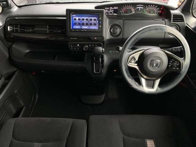 G・Lホンダセンシング インターナビ Bカメラ ETC スマートキー ドラレコ シートヒーター 両側パワースライドドア LEDヘッドライト アルミホイール(13枚目)