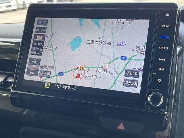 G・Lターボホンダセンシング 8インチインターナビ フルセグTV Bカメラ ETC ドラレコ スマートキー シートヒーター 両側パワースライドドア LEDヘッドライト アルミホイール 当社デモカー(7枚目)