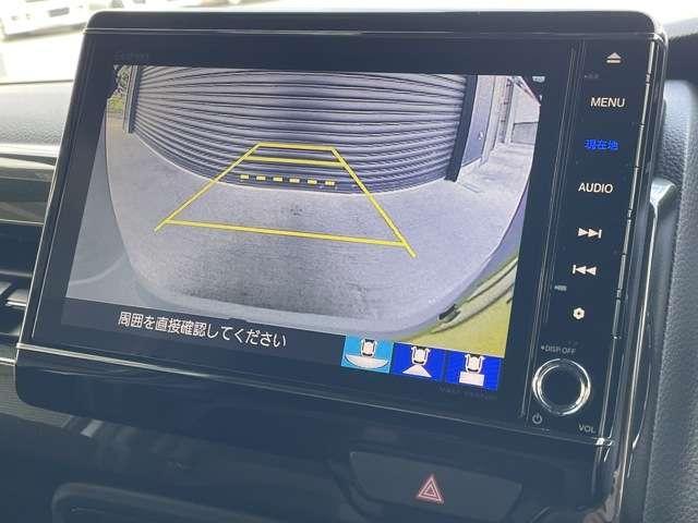 G・Lターボホンダセンシング 8インチインターナビ フルセグTV Bカメラ ETC ドラレコ スマートキー シートヒーター 両側パワースライドドア LEDヘッドライト アルミホイール 当社デモカー(8枚目)
