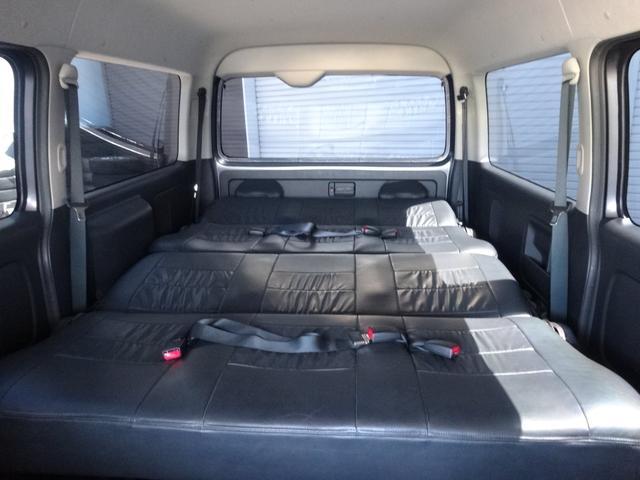 トヨタ レジアスエースバン S-GLワゴンキット8人乗用登録PRMIEX20inAW