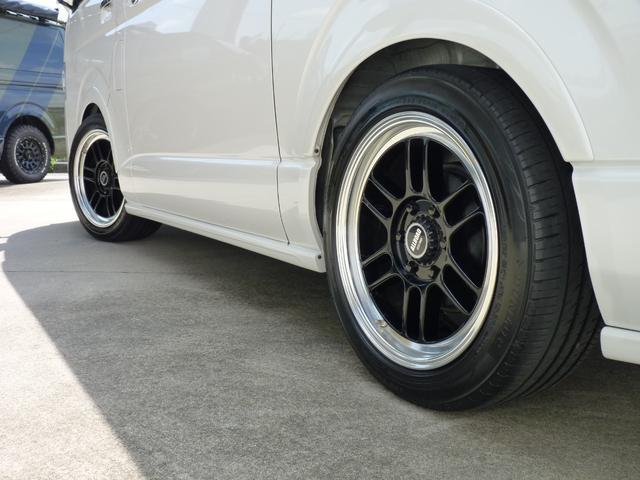 スーパーGL ダークプライム BRITZデモカー コンプレッサーシステムスーパーチャージャー NURSPECマフラー ZZR-DSC車高調 タッチブレイン エアロスピードRコンセプトフロント サイド リアスカート ボンネット(12枚目)