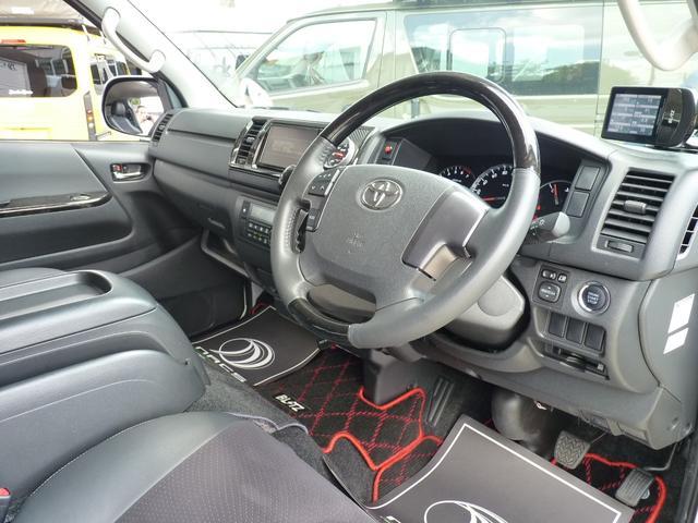 スーパーGL ダークプライム BRITZデモカー コンプレッサーシステムスーパーチャージャー NURSPECマフラー ZZR-DSC車高調 タッチブレイン エアロスピードRコンセプトフロント サイド リアスカート ボンネット(30枚目)