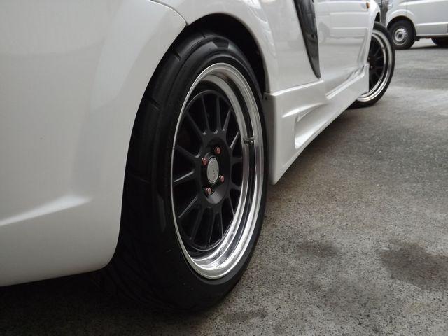 Sエディション 5MT・パイオニア製HDDサイバーナビ・日本精機製メーター・ETC車載器・イルージョン製エアロ・WORK製17AW・ブリッツ製車高調・柿本製マフラー・(24枚目)