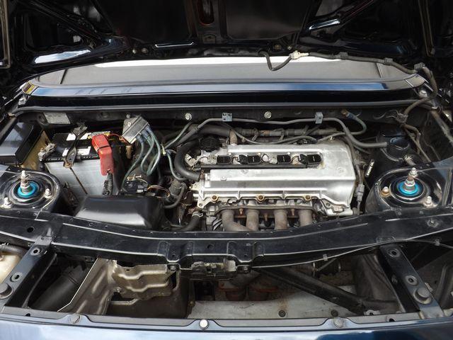 Sエディション 5MT・ダッシュ逃4点式げロールゲージ・ETC車載器・外ステ/シフト・車高調・外マフラ・ファイナルヘッドライトユニット・外HID・社外製17インチアルミ・外クラ/フライ・(6枚目)
