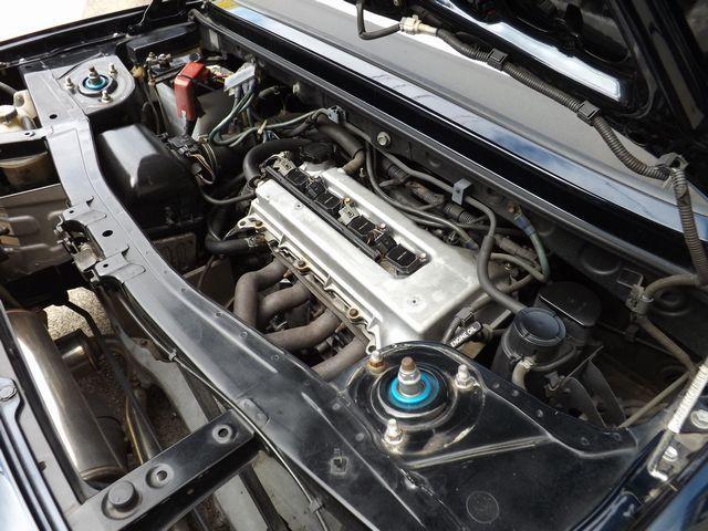 Sエディション 5MT・ダッシュ逃4点式げロールゲージ・ETC車載器・外ステ/シフト・車高調・外マフラ・ファイナルヘッドライトユニット・外HID・社外製17インチアルミ・外クラ/フライ・(7枚目)