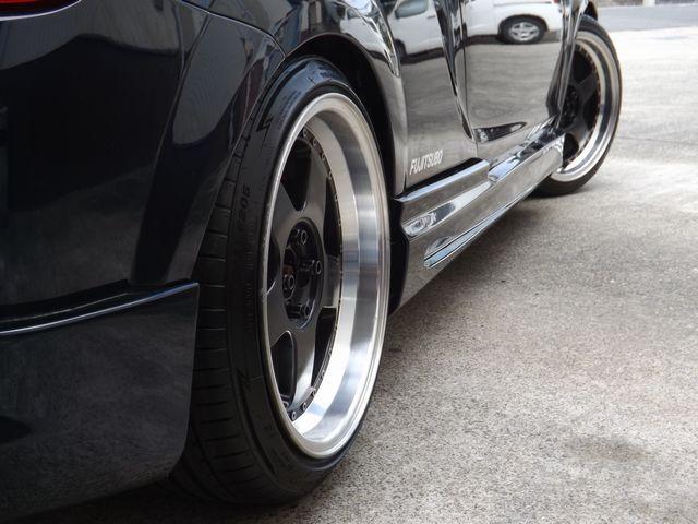 Sエディション 5MT・ダッシュ逃4点式げロールゲージ・ETC車載器・外ステ/シフト・車高調・外マフラ・ファイナルヘッドライトユニット・外HID・社外製17インチアルミ・外クラ/フライ・(21枚目)