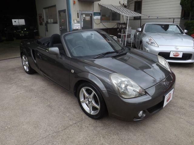 ベースグレード 6速マニュアル・純正ハードトップ付・ホーネット製セキュリティガード・TRD製エキゾーストマニホールド・TechnoProSpirit製チタンマフラー・WORK製アルミ・社外製スポーツサスペンション・(21枚目)