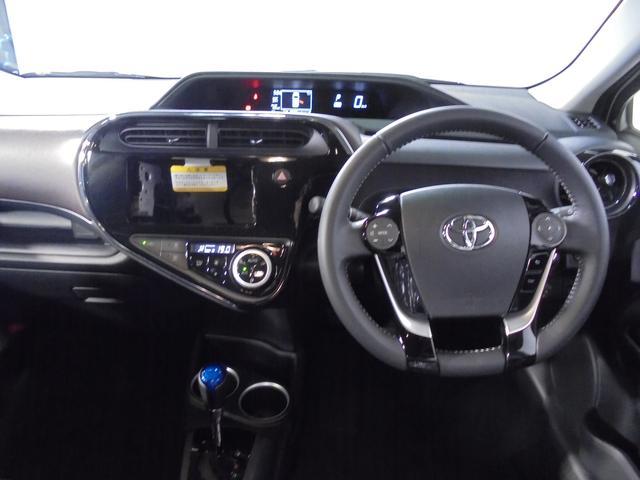 トヨタ アクア G新型未使用車 セーフティセンスC ナビレディ スマートキ-