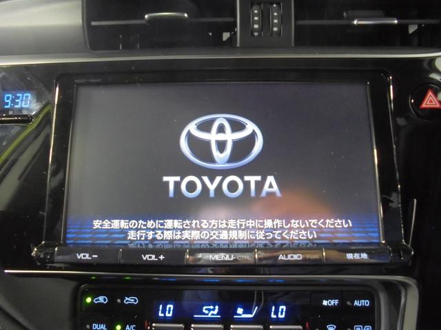 トヨタ オーリス ハイブリッド 9型ナビ セーフティセンス LED スマートキ