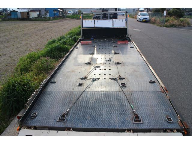 積載車 レッカー フラトップ 開閉アオリ 固縛フック 工具箱(9枚目)