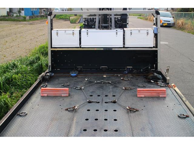 積載車 レッカー フラトップ 開閉アオリ 固縛フック 工具箱(10枚目)