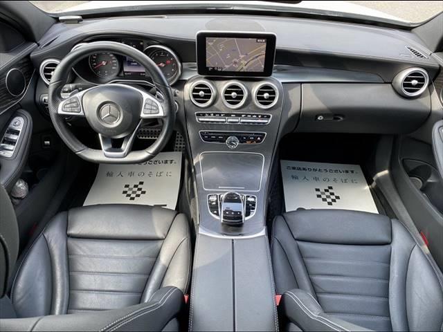 C200スポーツエディション(本革仕様) 左ハンドル限定車 サンルーフ 本革シート シートヒーター・メモリー レーダーセーフティPKG レーダークルーズ 純正HDDナビ フルセグ バックカメラ Bluetooth パワーバックドア LED(3枚目)