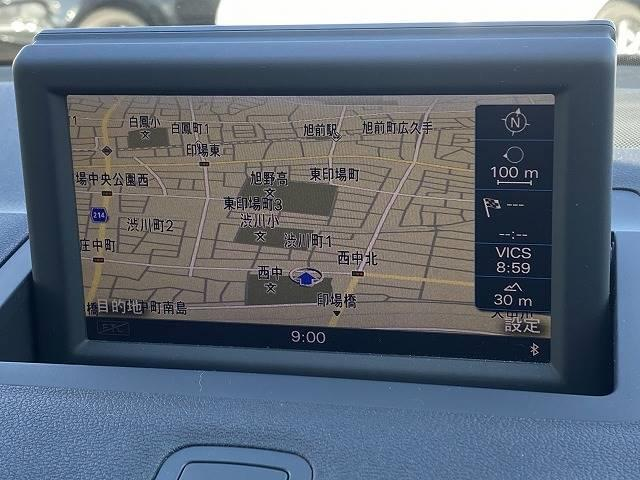1.4TFSI 純正ナビTV ETC HIDヘッドライト Bluetoothオーディオ HID オートライトアイドリングストップ(4枚目)