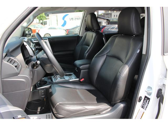 米国トヨタ 4ランナー SR5 新品フルセグナビ 黒革 新車並行実走行 弊社デモカー
