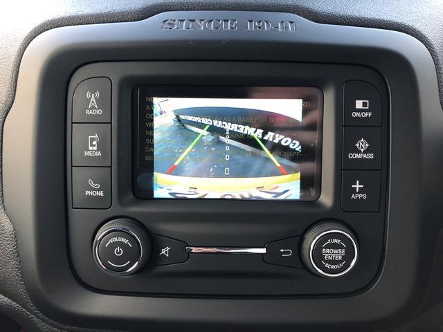 クライスラー・ジープ クライスラージープ レネゲード トレイルホーク ワンオーナー Bカメラ Pセンサー クルコン