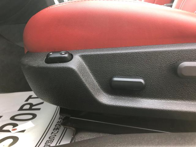 V8 GTグラスルーフレッドホット 地デジナビ レッドレザー(15枚目)