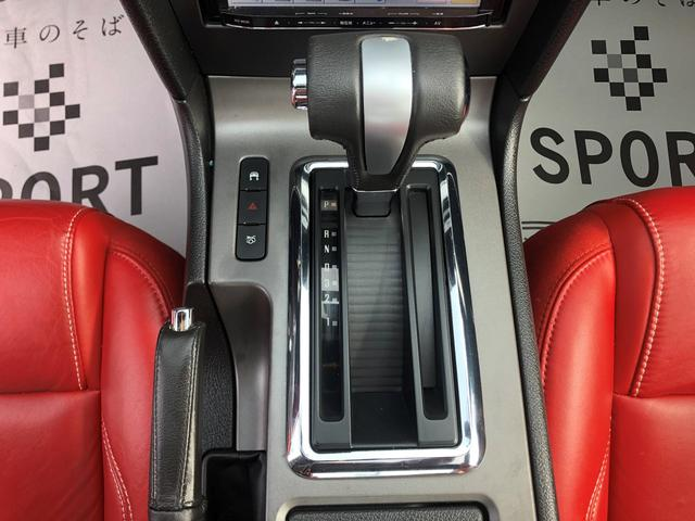 V8 GTグラスルーフレッドホット 地デジナビ レッドレザー(16枚目)