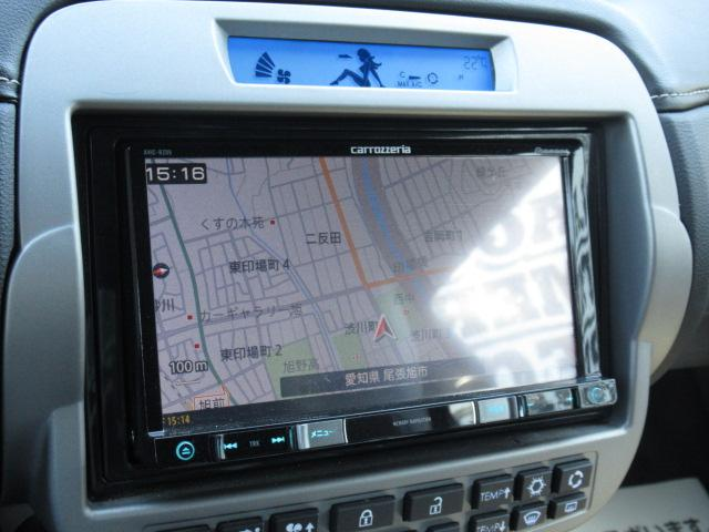 カロッツェリアSDナビ装備。フルセグTV・DVD再生・Bluetoothなど充実しております。