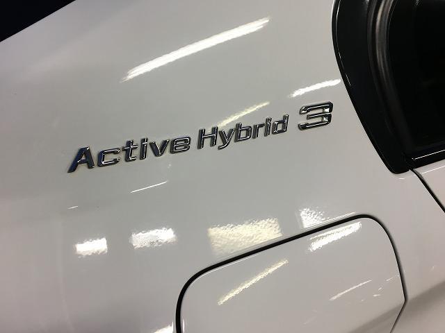 BMWアクティブハイブリッド3のMスポーツ入庫!オプション18inアルミ・クルーズコントロール装備。お問い合わせは担当森下まで。