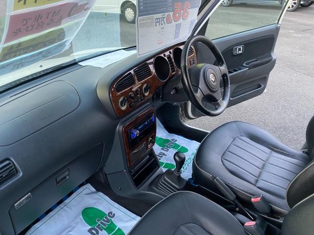 4WD 5速マニュアル車 アルミホイール ナビ DVD再生(15枚目)