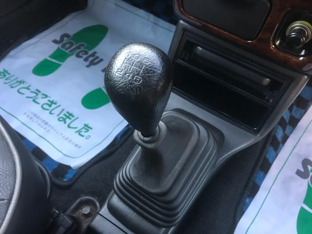 4WD 5速マニュアル車 アルミホイール ナビ DVD再生(38枚目)