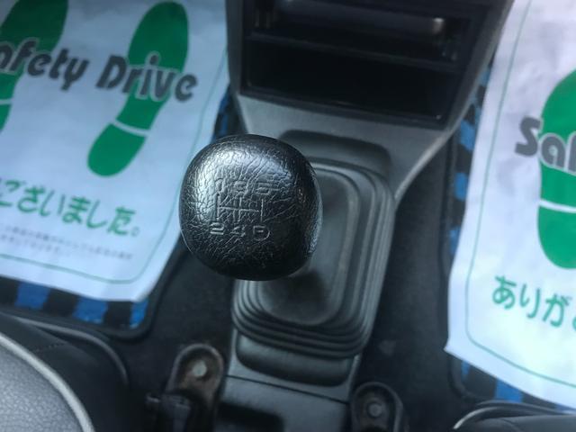 4WD 5速マニュアル車 アルミホイール ナビ DVD再生(43枚目)
