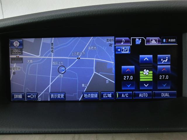 LS600h バージョンC Iパッケージ 4WD ナビ革SR(10枚目)